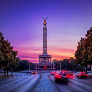 Bild der Siegessäule in Berlin